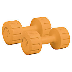 Sculpture Vinyl Dumbbell Set 8kg Statutory