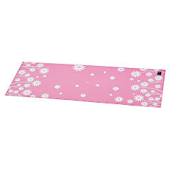 Body Sculpture Yoga Mat Pink and White
