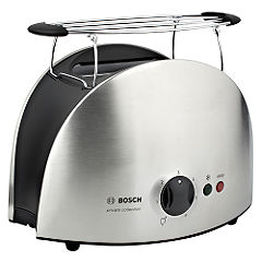 Bosch TAT6901GB Stainless Steel Private Collection 2 Slice Toaster
