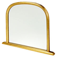 Gallery Classic Mantle Mirror Gold