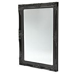 Gallery Classic Ornate Mantle Mirror Black