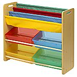 Children's Toy and Book Storage Unit