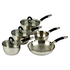 Ready Steady Cook Bistro 5 Piece Cookware Set