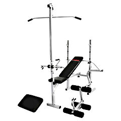 York B520 Bench with Lat and Curl