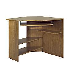 Blenheim Oak Corner Desk