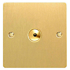 D and T Brushed Brass 400W Touch/Remote Control Dimmer Switch