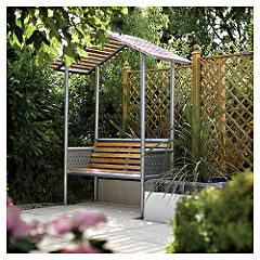 Rowlinson Aluminium and Wood Monaco Arbour