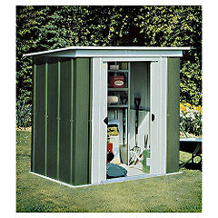 Rowlinson 6x4 Metal Shed Pent Roof