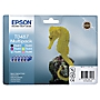 Epson T0487 6 Ink Cartridge Multipack