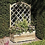Rectangular Planter with Trellis