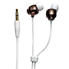 Maxell Crystal Budz Headphones Chocolate
