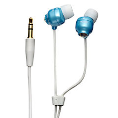 Maxell Crystal Budz Headphones Orient Blue