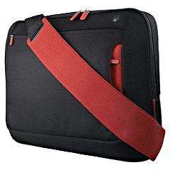 Belkin 17` Messenger Bag Jet/Cabernet
