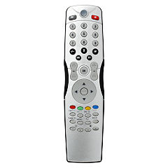 1 Way TV Remote Control