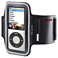 Belkin Dual Fit Sports Armband Case For New Ipod