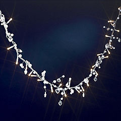 Tu Heart Beaded String Light
