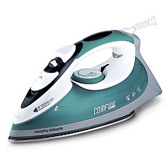 Morphy Richards 2400W Green Comfigrip Turbo Tip Steam Iron