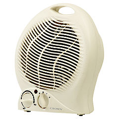 Crown 2kW Upright Fan Heater Statutory