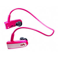 Sony Walkman® NWZ-W202 2GB Wearable MP3 Player Pink