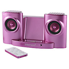 Intempo Pink iPod Dock IDS-01
