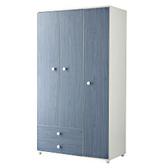 Miami 3-door and 2-drawer Wardrobe