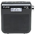 PURE One Mini Black DAB Radio