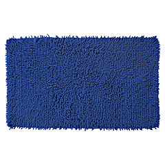 Tu Shaggy Chenille Bath Mat Electric Blue