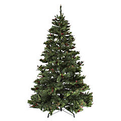 8ft White Christmas Tree