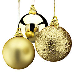 Large christmas decorations for Large christmas baubles for outside
