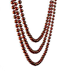 Sainsburys 6m Bead Chain Red Statutory