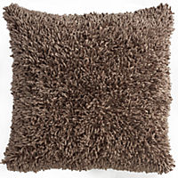 Tu Natural Shaggy Chenille Cushion