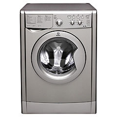 Indesit IWC6125S Washing Machine Silver
