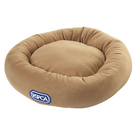 RSPCA Tan 50cm Donut Pet Bed
