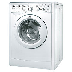 Indesit IWDC6125S Washer Dryer Silver
