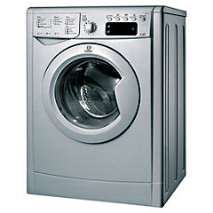 Indesit IWDE7125S Washer Dryer Silver