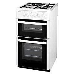 Beko DG582WP Gas Cooker White