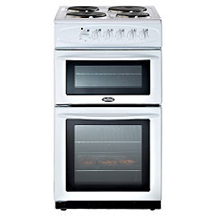 Belling Forum 335 Electric Cooker White