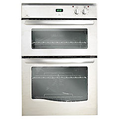 New World NW90DO Electric Double Oven Satin Steel