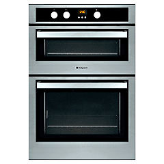 Hotpoint DE47X/2 Electric Double Oven Stainless Steel