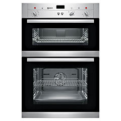 Neff U12M42 Electric Double Oven Stainless Steel