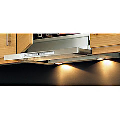 Neff D4692X0GB Telescopic Cooker Hood Silver
