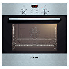 Bosch HBN531E0B Electric Multifunction Oven Brushed Steel