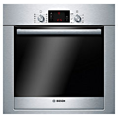 Bosch HBA73B550B Exxcel Electric Multifunction Oven Brushed Steel