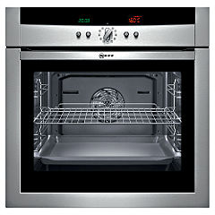 Neff B15P42N0GB Electric Oven Steel