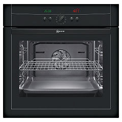 Neff B15P42S0GB Electric Oven Black