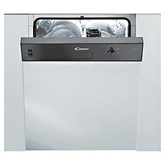 Candy CDS220N Integrated Dishwasher Black
