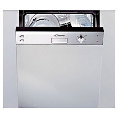 Candy CDS220/1X Integrated Dishwasher Black