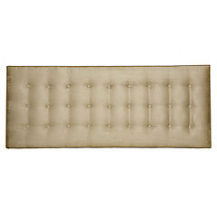 Silentnight Calella Faux Suede Headboard Natural
