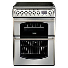 Cannon C60ETX Double Oven Electric Cooker Stainless Steel