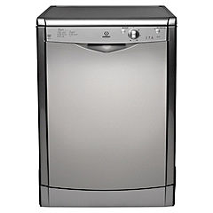 Indesit IDF125S Full-Size Dishwasher Silver
